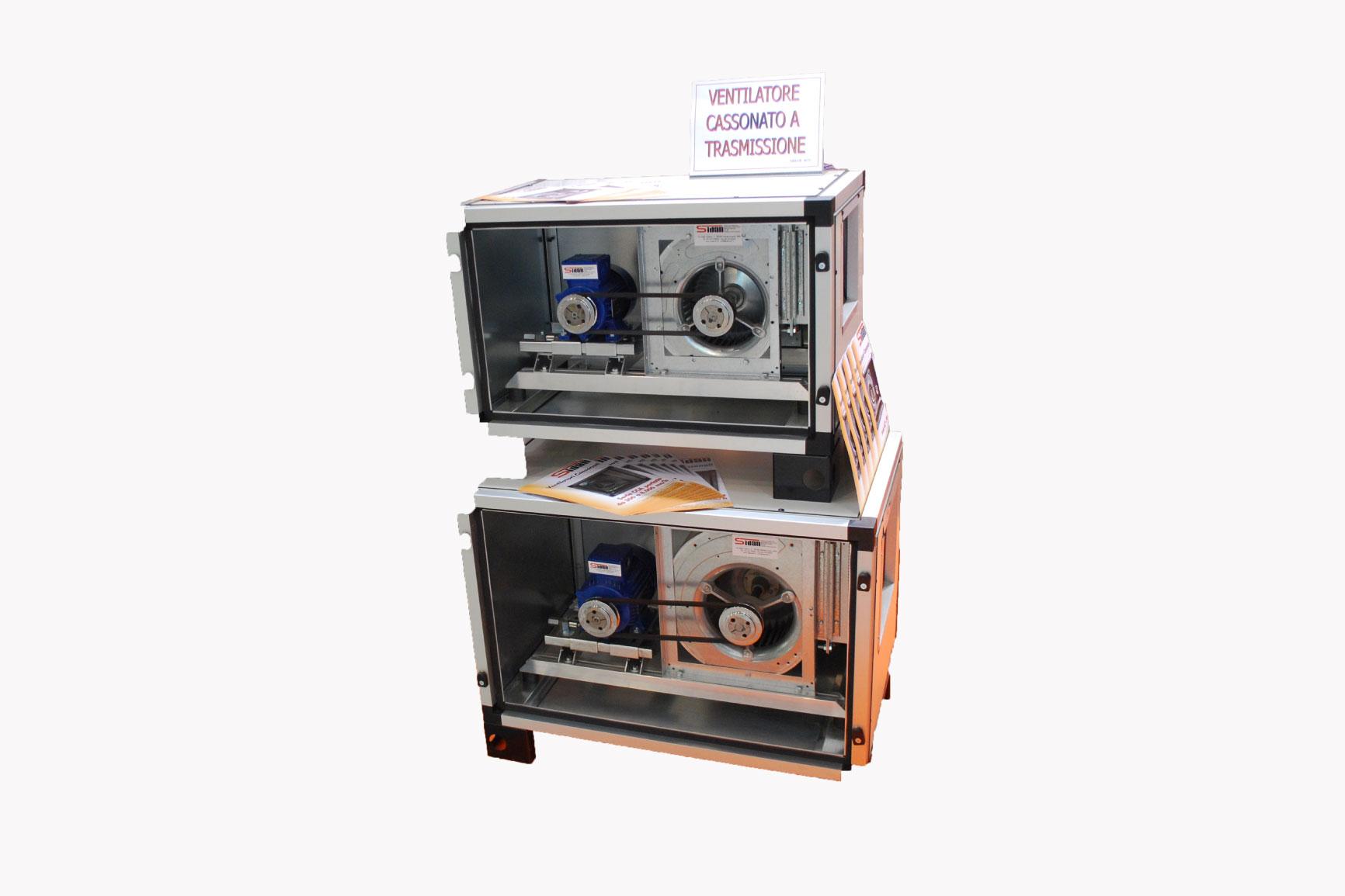 Ventilatore cassonato - Sidan